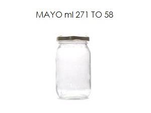 vaso per la mayonese