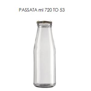 bottiglie per passata di pomodoro