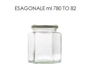 vaso esagonale