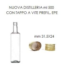 bottiglia nuova distilleria 500