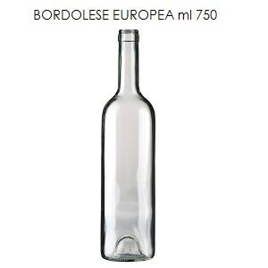 bottiglia bordolese europea 750