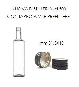bottiglia nuova distilleria 500 ml