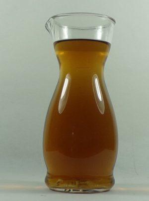 caraffa in vetro mezzo litro