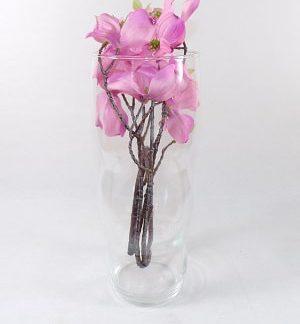 vaso vetro fiori