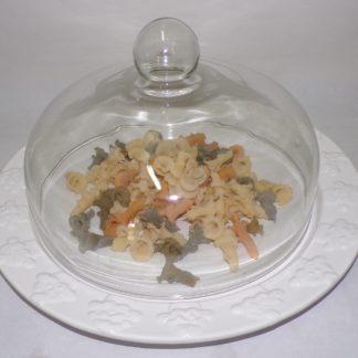 piatto con cupola