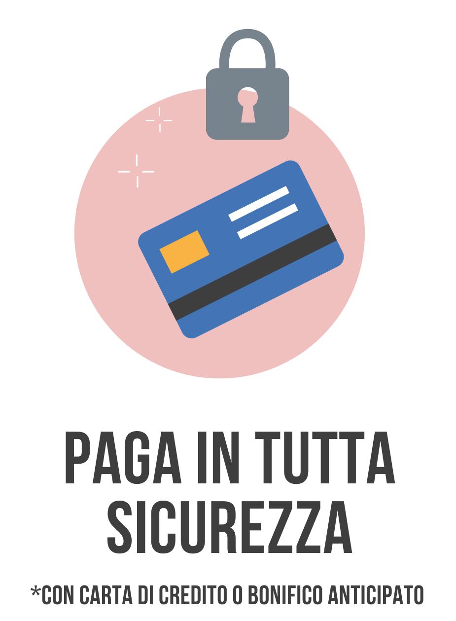 paga in sicurezza