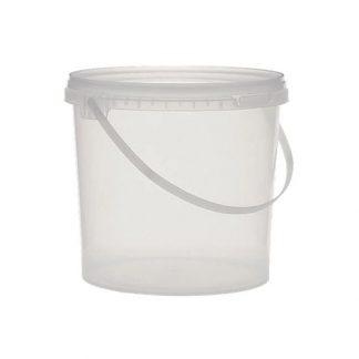 secchio alimentare trasparente