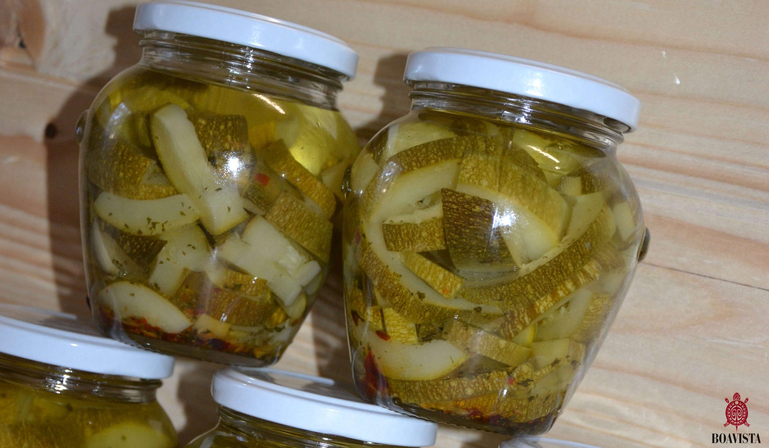 zucchine sott'olio banner